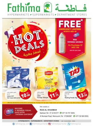 Hot Deals - Ras Al Khaimah