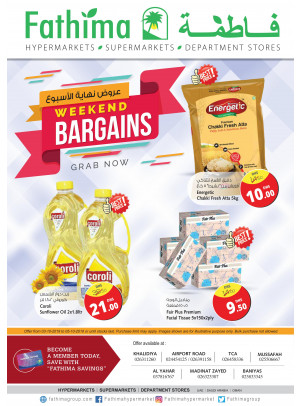 Weekend Bargains - Abu Dhabi