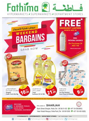 Weekend Bargains - Sharjah