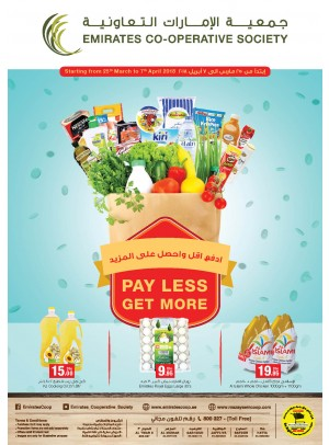 Pay Less Get More Offers