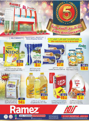 Fifth Anniversary Offers -  Ajman