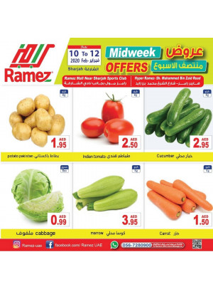 Midweek Offers - Sharjah