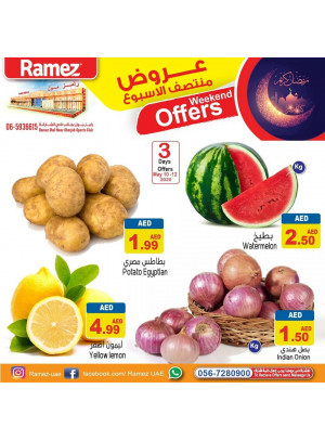 Midweek Offers - Ramez Mall Sharjah