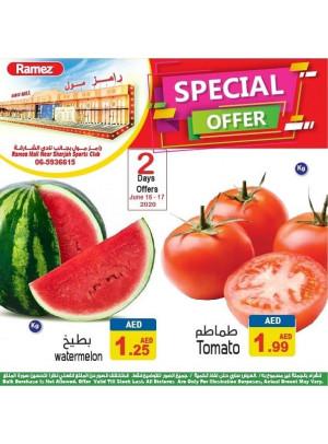 2 Days Offer - Ramez Mall Sharjah