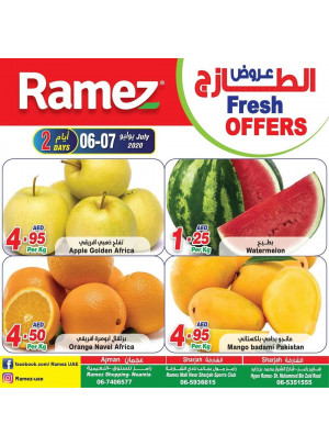 Fresh Offers - Ajman & Sharjah