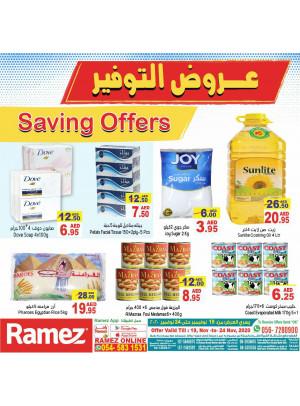 Saving Offers
