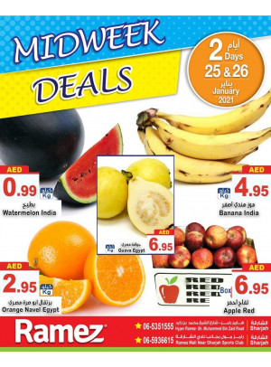 Midweek Deals - Sharjah