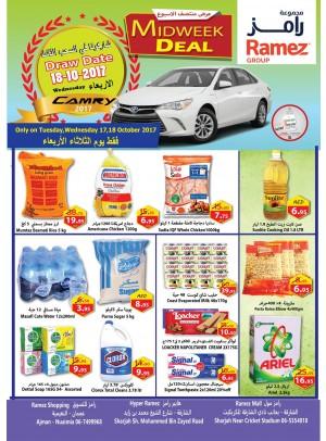 Midweek Deals - Ajman & Sharjah Branches