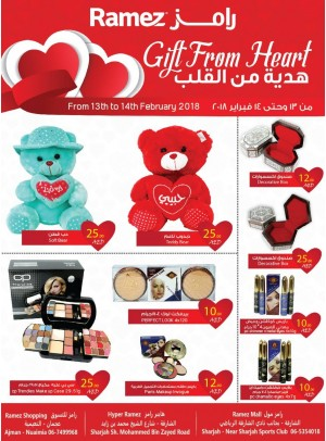 Gift From Heart Offers - Ajman & Sharjah Branches