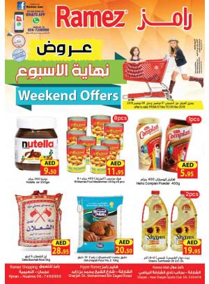 Weekend Offers - Ajman & Sharjah Branches