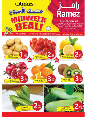Midweek Deals - Ramez Mall Sharjah
