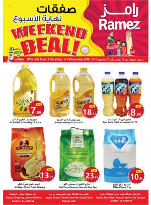 Weekend Deals - Ajman & Sharjah Branches