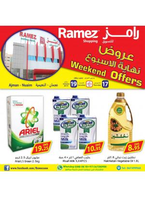 Weekend Offers - Ramez Shopping Center, Ajman