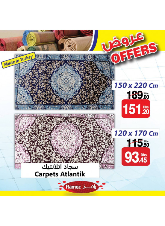 Carpets Offers - Ras Al khaimah