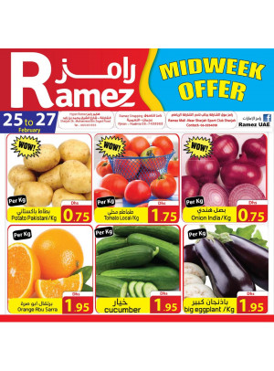Fresh Midweek Offers - Ajman & Sharjah