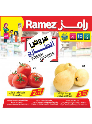 Fresh Offers - Ajman & Sharjah Branches