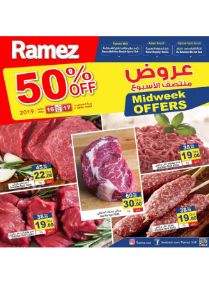 Midweek Offers 50% Off - Sharjah & Ajman