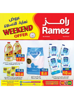 Weekend Offers - Ras Al Khaimah
