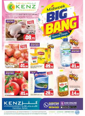 Midweek Big Bang Deals