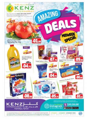 Amazing Midweek Deals