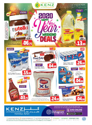 Happy New Year Deals