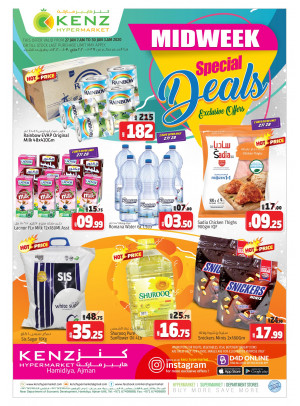 Special Midweek Deals