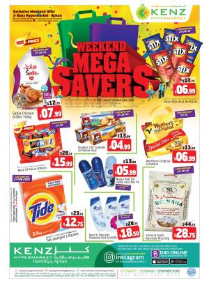 Weekend Mega Savers