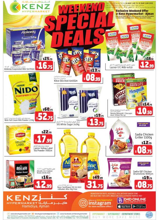 Weekend Special Deals