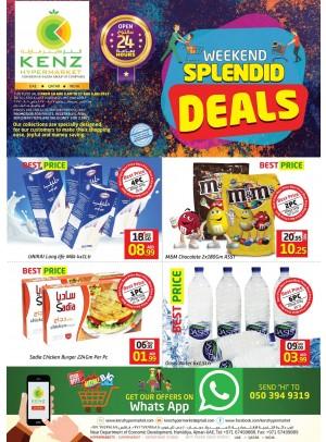 Weekend Splendid Deals