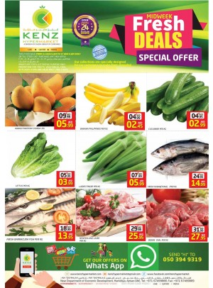 Fresh Midweek Deals