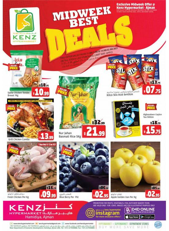Midweek Best Deals