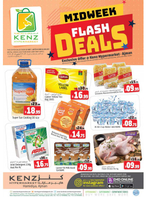 Midweek Flash Deals