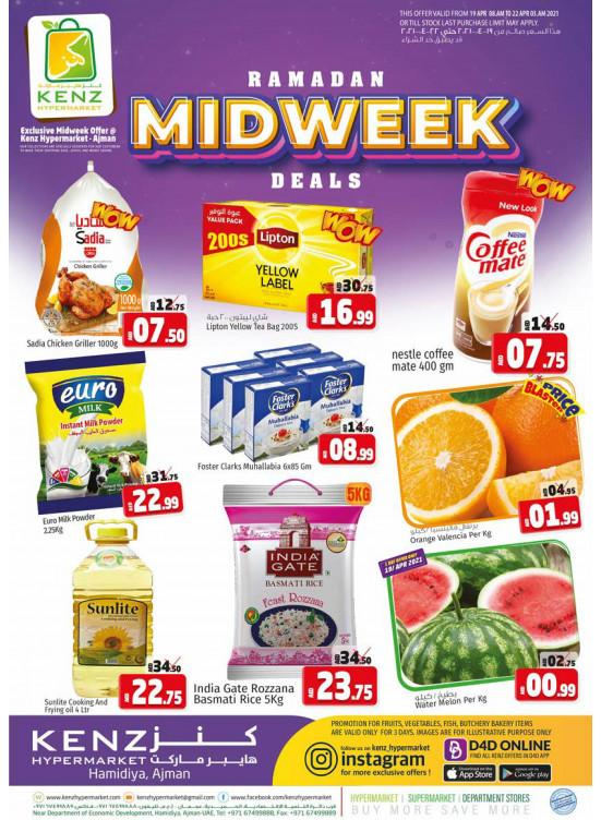 Midweek Deals