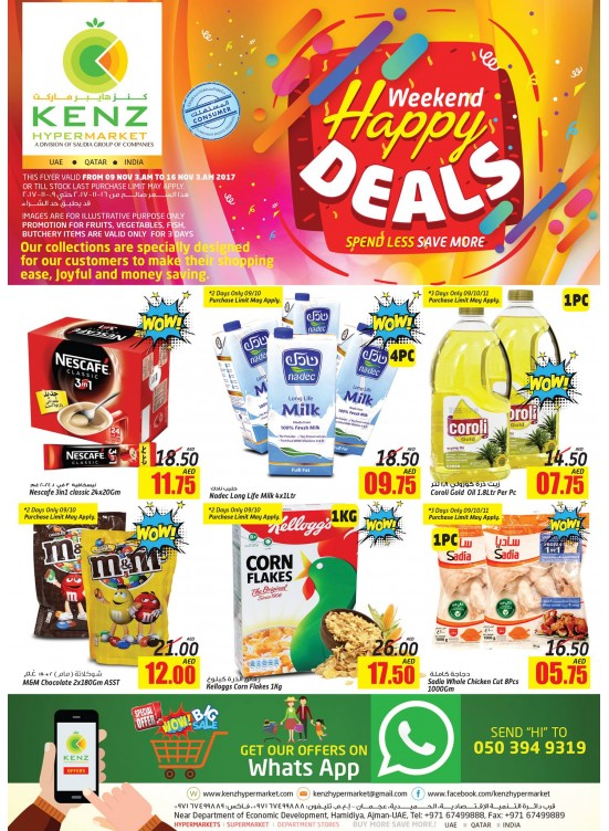 Weekend Happy Deals
