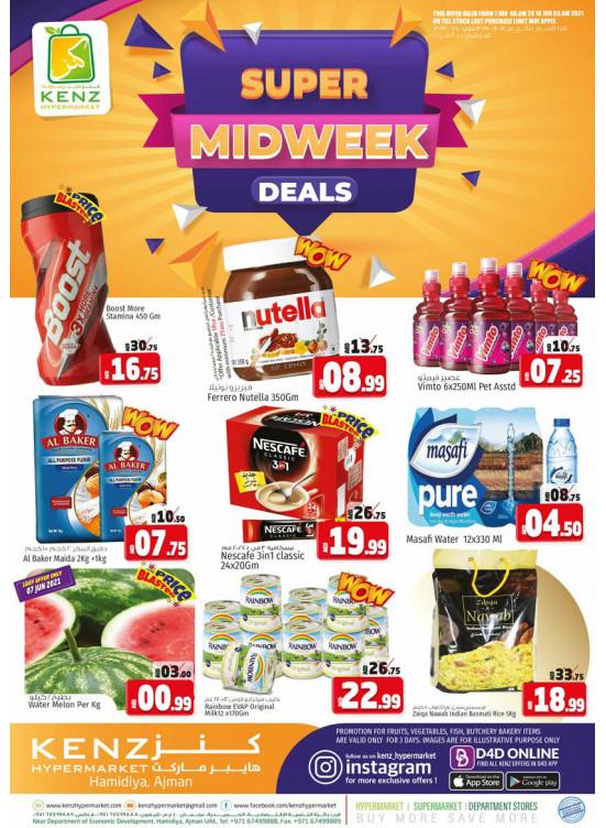 Super Midweek Deals