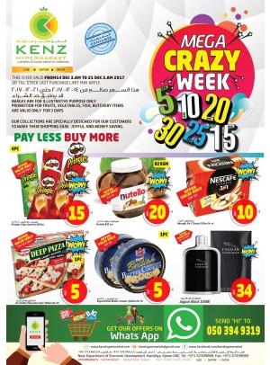 Mega Crazy Weekend Deals
