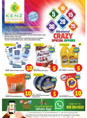 Weekend Crazy Special Offers