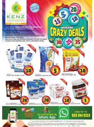 Weekend Crazy Deals