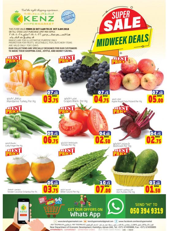 Super Midweek Sale