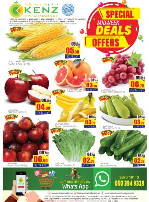 Special Midweek Deals