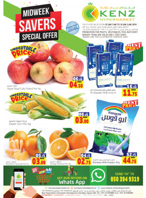 Midweek Special Offers