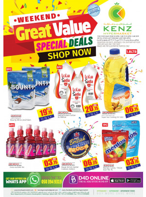 Great Value - Special Deals