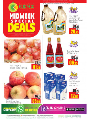 Midweek Special Deals