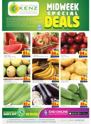 Midweek Special Deals