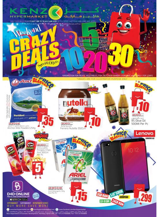 Weekend Crazy Deals