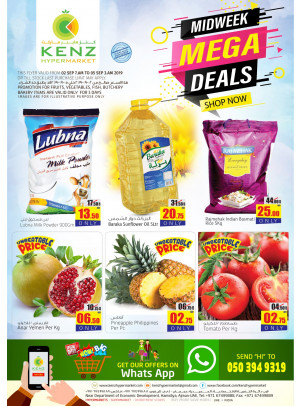 Midweek Mega Deals