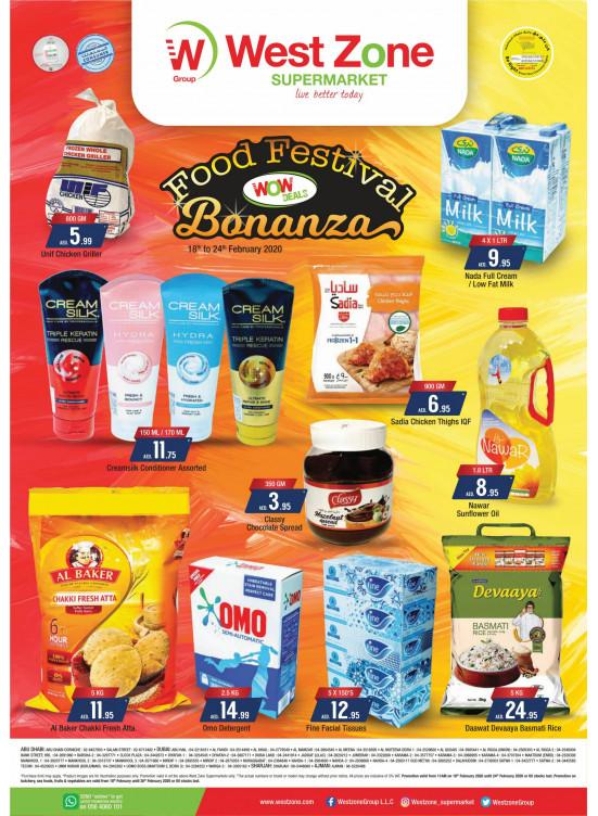 Food Festival Bonanza