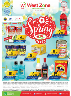Wow Spring Deals