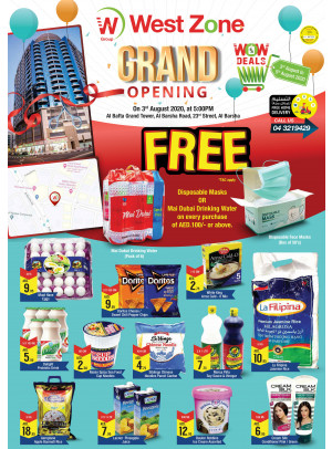 Grand Opening Offers - Al Bafta Grand Tower, Barsha 1
