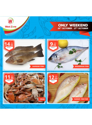 Only Weekend Offers - Seafood Offers